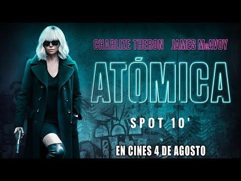 "Atómica - spot 10"" c?>"