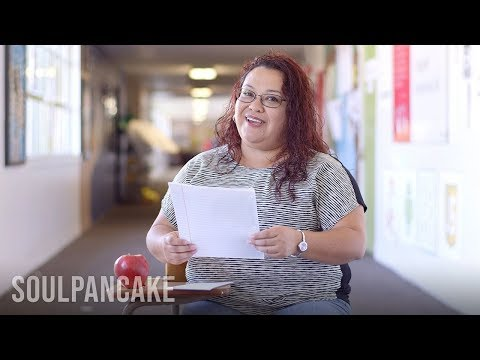teachers - In honor of teacher appreciation week, SoulPancake and Edutopia asked teachers to write a letter to themselves on their first day teaching. What teacher do y...