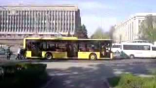 Zaporozhye Ukraine  city images : Trolley bus in Zaporozhye, Ukraine