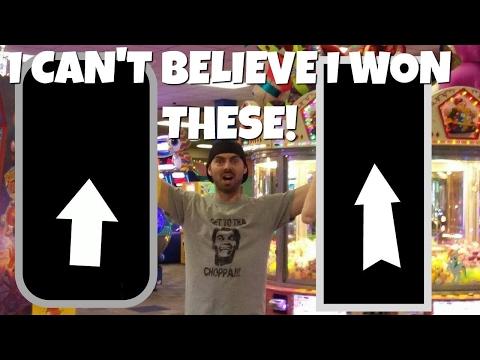 Knuckleheads Arcade Jackpot Wins Awesome Prize! Wisconsin Dells ArcadeJackpotPro