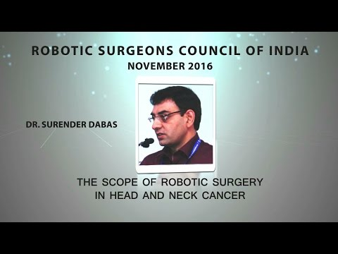 Robotic Surgery in Head and Neck