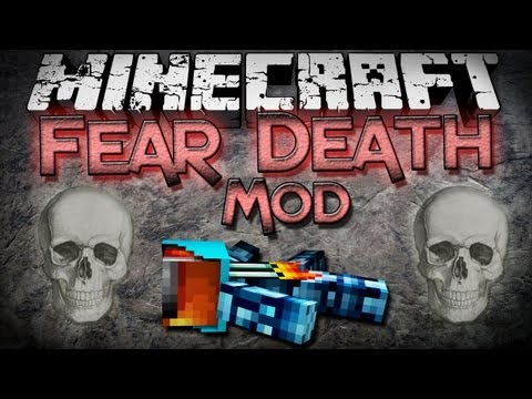Minecraft Mod Showcase: Fear Death Mod - Only 10 Lives!