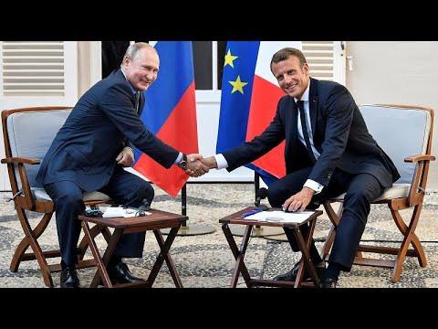 Πούτιν-Μακρόν πριν από την G7