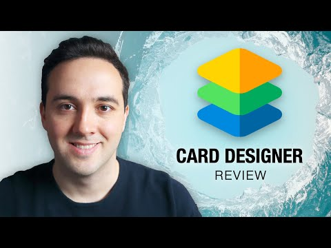 Card Designer for Blocs app - Review & Tutorial