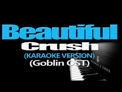 Crush - Beautiful (Goblin (Guardian The Lonely And Great God OST)) (KARAOKE VERSION)