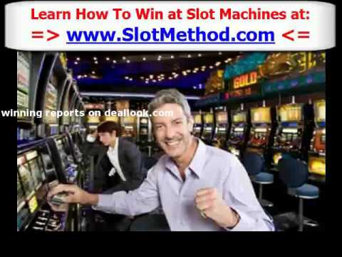 How To Win Slot Machines – Win Casino Slot Machines by 'Slot Method' Author Scotty Sun