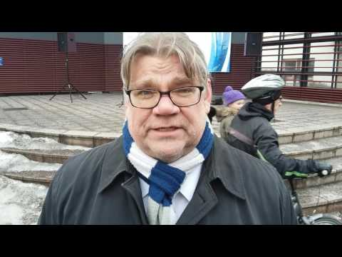 Timo Soini Imatralla tekijä: Uutisvuoksi