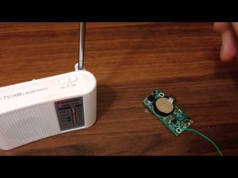 Радио и видео жучки своими руками