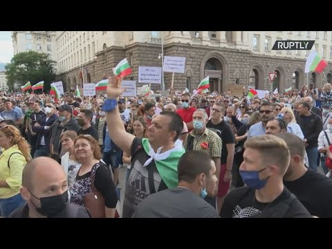 Βουλγαρία:Χιλιάδες πολίτες στους δρόμους για 5η συνεχόμενη ημέρα διαδηλώσεων κατά της κυβέρνησης