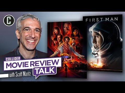 Bad Times at the El Royale & First Man - Movie Review Talk with Scott Mantz
