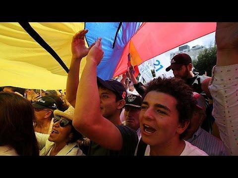 Διαδηλώσεις στο Κίτο για την καθυστέρηση ανακοίνωσης του εκλογικού αποτελέσματος