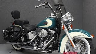 9. 2009  HARLEY DAVIDSON  FLSTC HERITAGE SOFTAIL CLASSIC - National Powersports Distributors