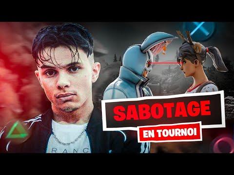 SABOTAGE EN TOURNOI !! 🎮 (ft. @ReYoZ)