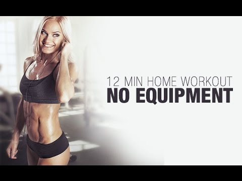12 Minute HOME HIIT Workout – NO EQUIPMENT Needed!!