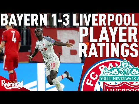 Mane Was Decent (Again) | Bayern Munich V Liverpool 1-3 | Player Ratings