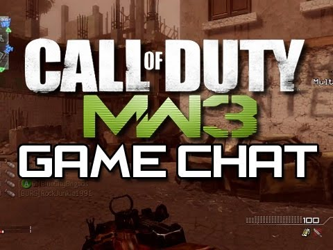 MW3 - Random and Funny Game Chat Moments