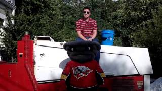 Cincinnnati Cyclones - Twister ALS Ice Bucket Challenge