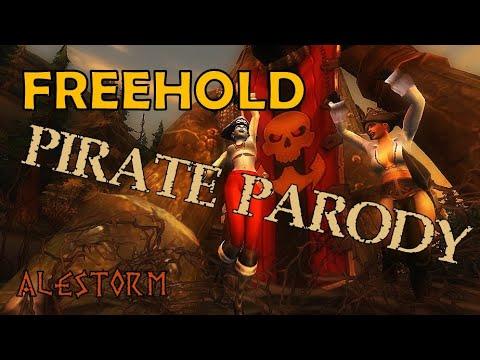 Sharm ~ Freehold Pirate Parody