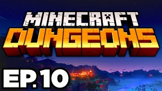 • THOR'S HAMMER OF GRAVITY, FIERY FORGE PART 1! • - Minecraft Dungeons Ep.10 (Gameplay / Let's Play)