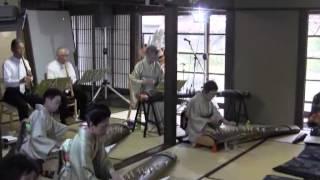 五条川小弓の庄・桜コンサート(2)菊温会 筝・尺八演奏