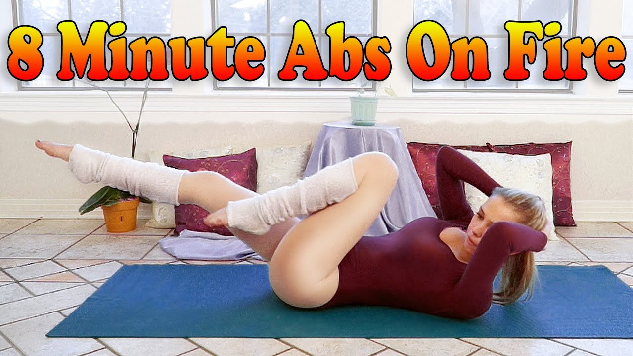 8 Minute Abs Ripper Workout – Best Ab Exercises For Women & Men – Donnie
