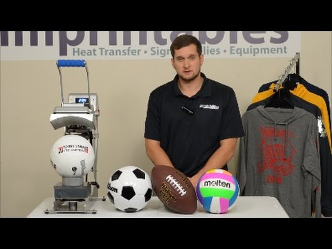 Introducing the Hotronix® Sports Ball | Imprintables Warehouse