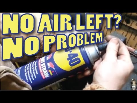 aerosol - Works on most dead aerosol cans and allows you to get the last little bit out. WD40 paint cans virtually any spray cans The can will have a rating on the bac...