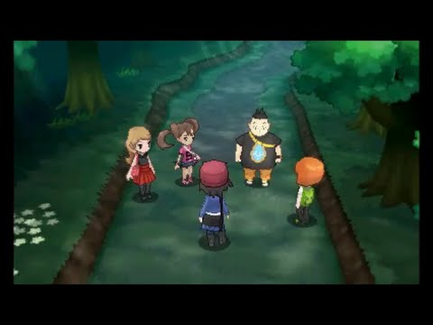 Pokemon X/Y - Walkthrough Part 2 - Route 2 and Santalune Forest