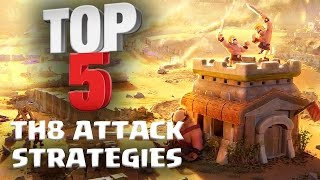 Video Top 5 BEST TH8 Attack Strategy for 3 Stars in Clan Wars | ft. Reddit Pirates | Clash of Clans MP3, 3GP, MP4, WEBM, AVI, FLV Mei 2017