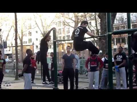 Street workout. Paris Valmy  - 20140216 162841 (видео)