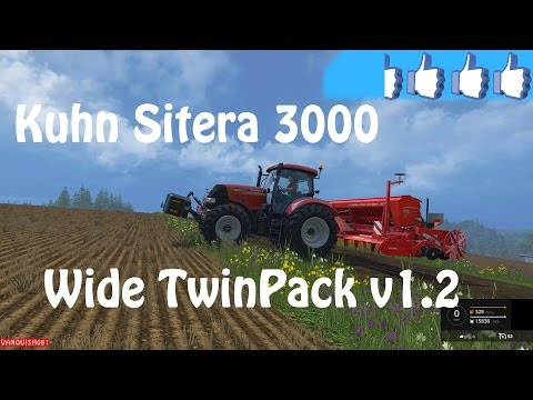 Kuhn Sitera 3000 wide twinpack v1.2 Final