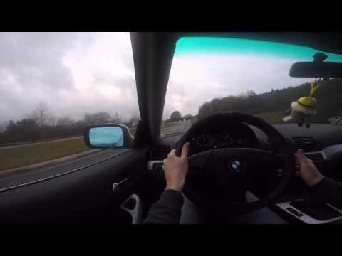Bmw e46 328i Coupe  acceleration 0-100 KM/H PROMO