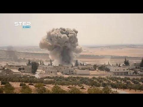 Aεροπορικές επιδρομές στην Ιντλίμπ