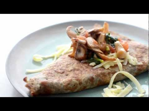 French Recipe: How to Make Authentic Garden Fresh Vegetable French Crepes