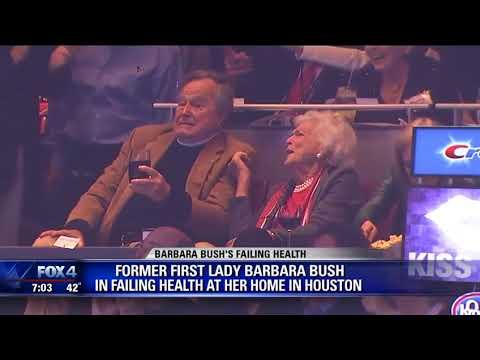 Barbara Bush's heath is failing, family says