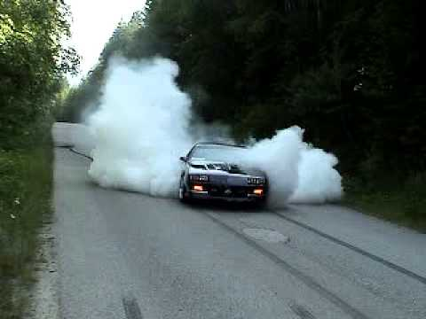Third Gear Burnout 1988 IROC-Z Camaro