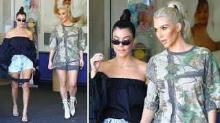Video Kim Kardashian Goes On A Shopping Spree For Baby No. 3 With Kourtney MP3, 3GP, MP4, WEBM, AVI, FLV November 2017