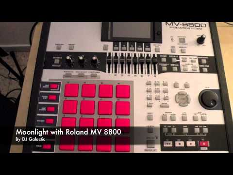 Moonlight (French House) with Roland-MV-8800