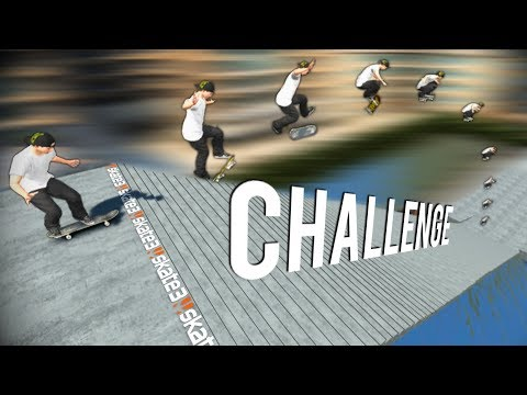 THE BIGGEST STAIR CHALLENGE IN SKATE 3 (150 STAIR)
