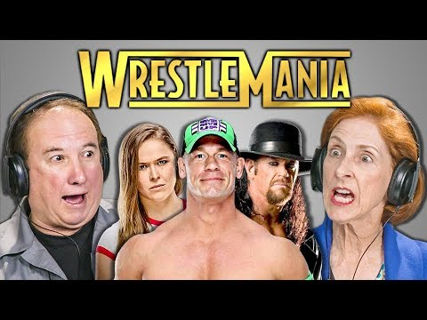 ELDERS REACT TO WWE WRESTLEMANIA 34