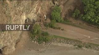 Kaikoura New Zealand  city pictures gallery : New Zealand: Helicopter footage shows quake damage along Kaikoura coastline
