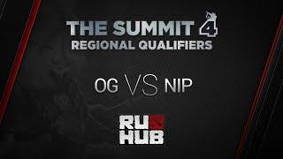 OG vs NIP, game 2
