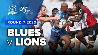 Blues v Lions Rd.7 2020 Super rugby video highlights | Super Rugby Video Highlights