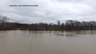Baginton United Kingdom  city images : Flooding (River Sowe - Coventry) March 2016