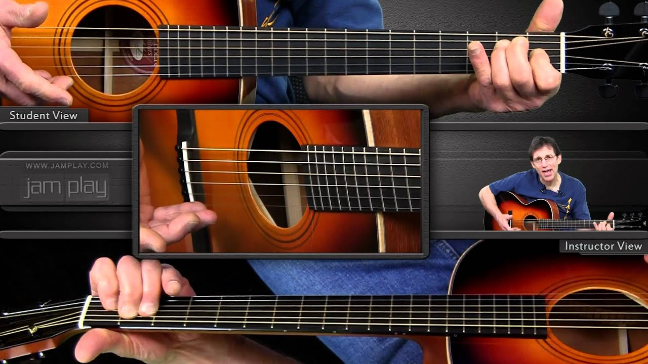 Learn Fingerstyle Blues Guitar – The Rolling E Blues