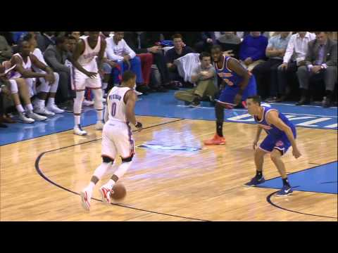Video: Russell Westbrook Shines in Return to Action
