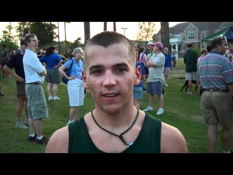 Bobcat Cross Country Post-Race Tyler Mattix - 09/02/11
