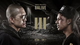 Download Lagu TWIO3 : EP.10 TORDED vs MC-KING (8ALIVE)   RAP IS NOW Mp3