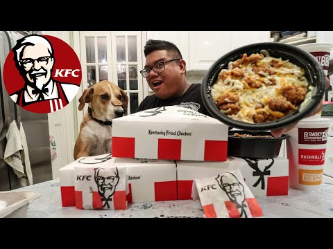KFC $5 Fill Up Meal Food Challenge