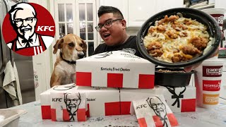 Video KFC $5 Fill Up Meal Food Challenge MP3, 3GP, MP4, WEBM, AVI, FLV Oktober 2018